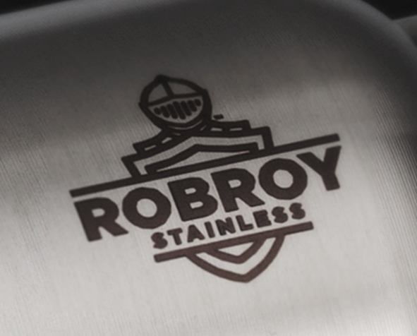Robroy Stainless annealed label